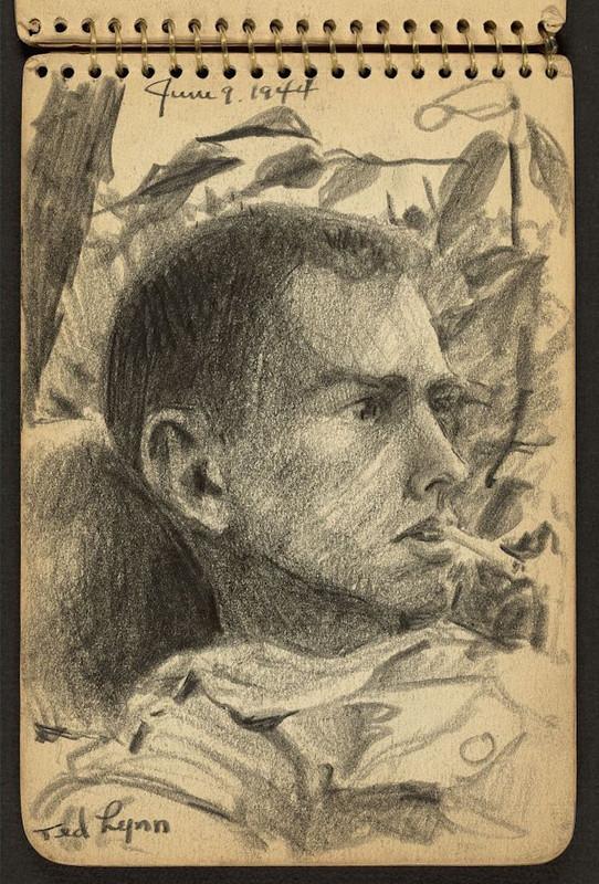 Ted Lynn. 9 de junio de 1944