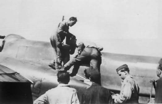 Trabajos de mantenimiento en el T9+GL en Marzo de 1944 en la localidad de Oranienburg
